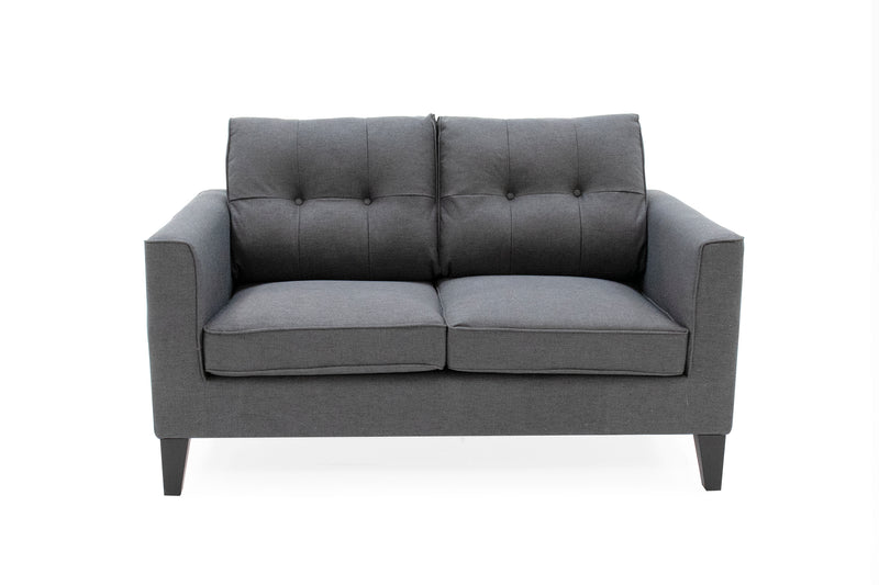 Astrid 2 Seater Sofa - Charcoal - ImagineX Furniture & Interiors