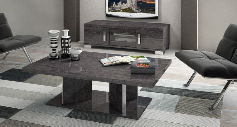 Sarah Grey Birch Italian Coffee Table