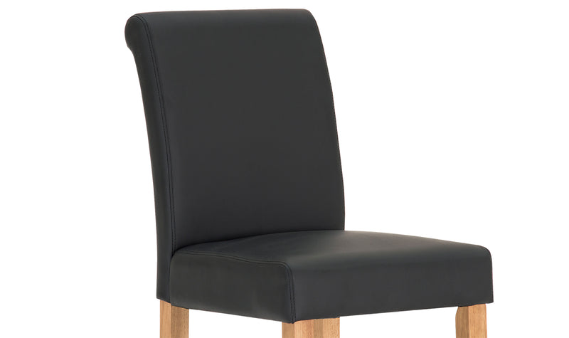 Carlton Bar Stool - Black - ImagineX Furniture & Interiors