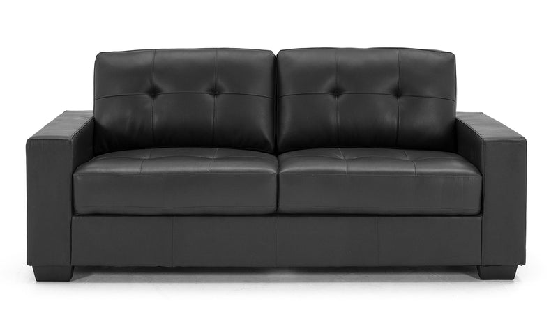 Gemona 3 Seater Sofa - Black - ImagineX Furniture & Interiors