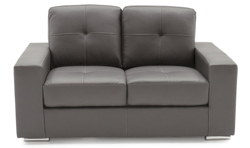 Gemona 2 Seater Sofa - Grey - ImagineX Furniture & Interiors