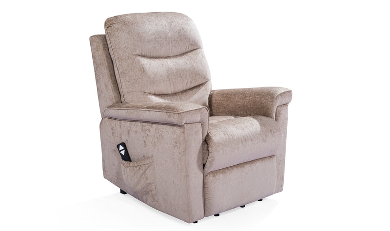 Glencoe Electric Recliner - Mink - ImagineX Furniture & Interiors