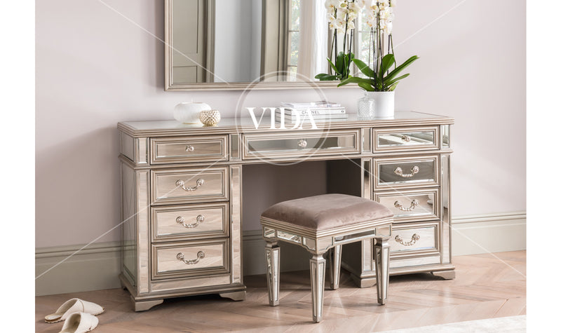Jessica Knee Hole Dressing Table Stool Only - ImagineX Furniture & Interiors