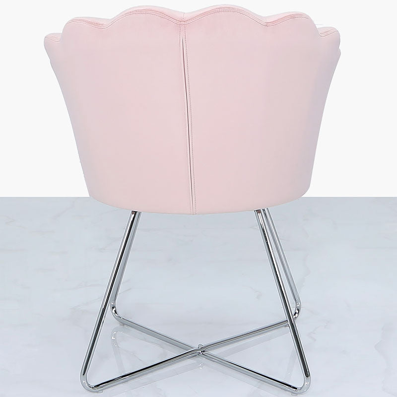 Areo Light Pink Shell Back Dining Chair
