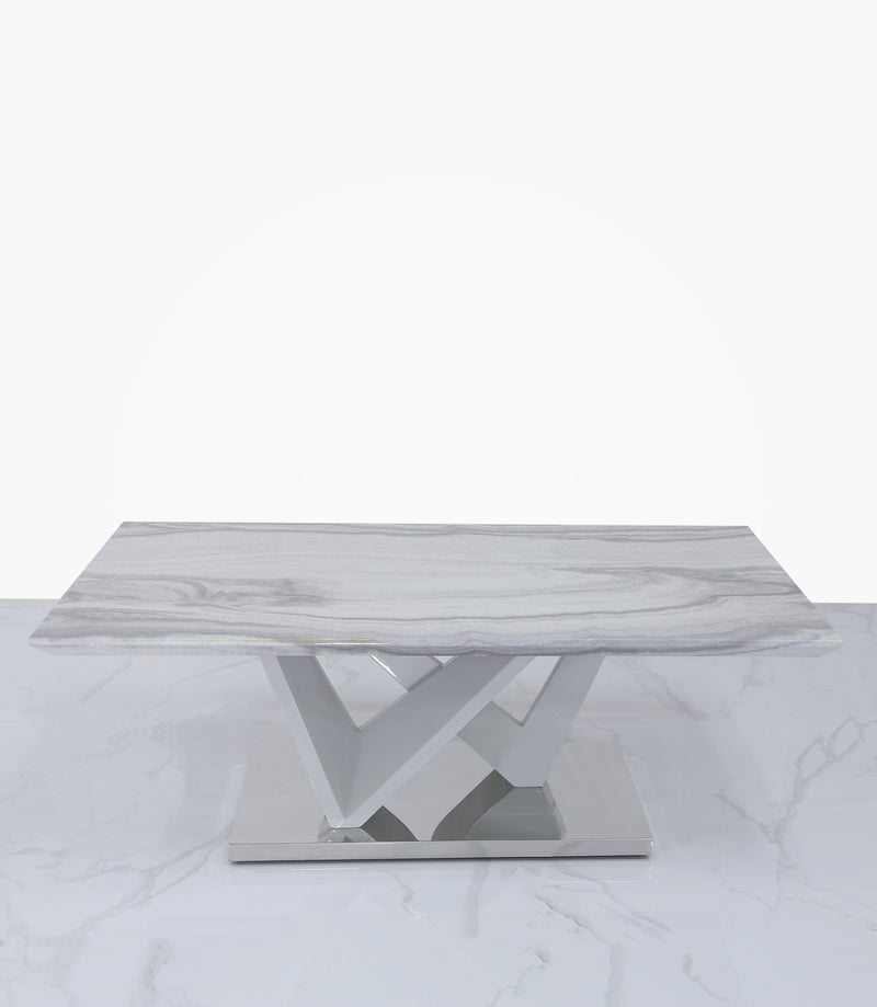 Aroma Marble Effect Coffee Table - ImagineX Furniture & Interiors