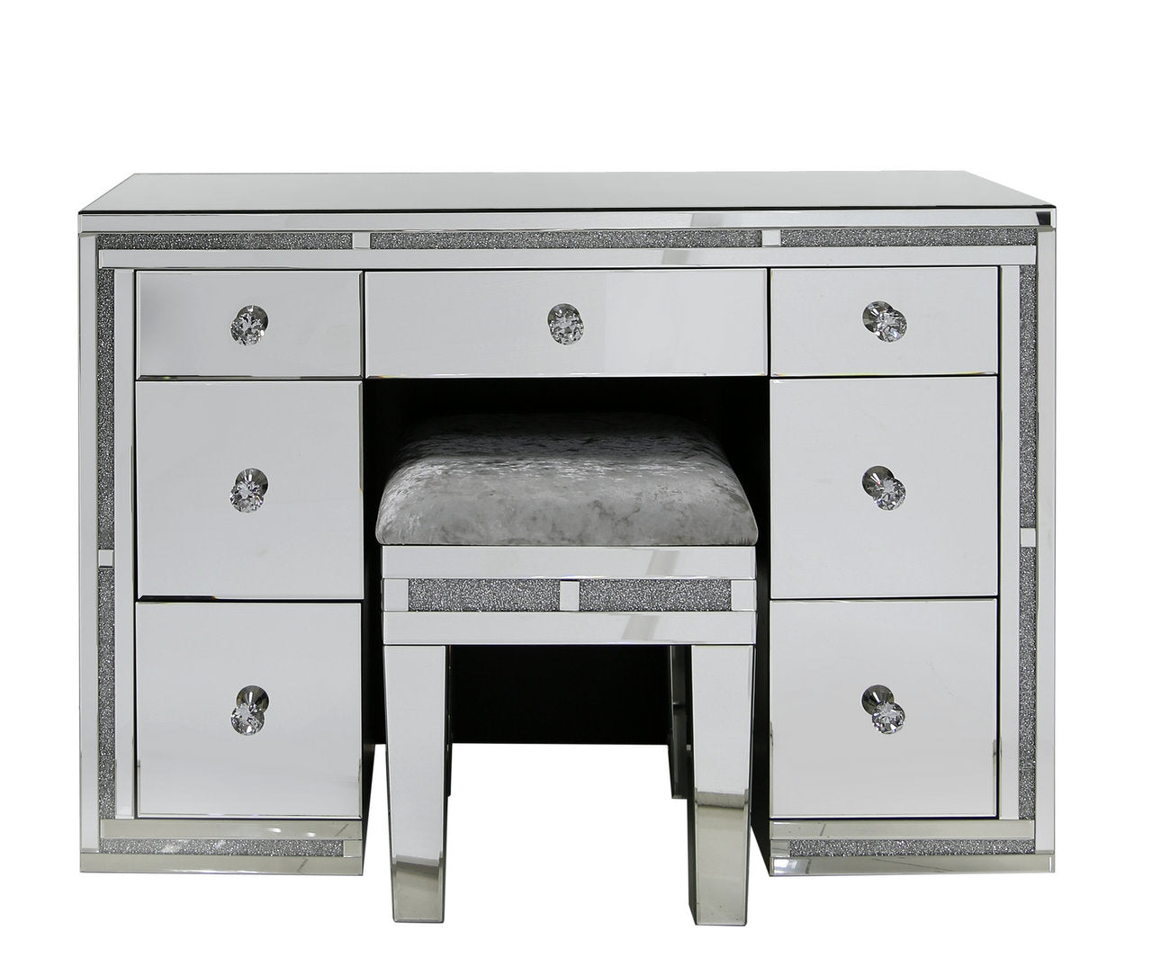 partially chrome runners co dp kitchen drawers table home uk white with drawer amazon handles dressing hopper edward assembled metal
