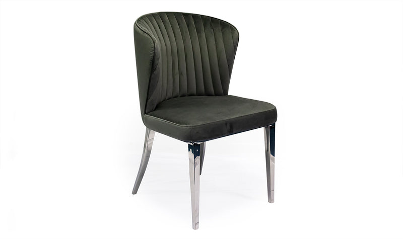 Ottavia Dining Chair - Grey - ImagineX Furniture & Interiors