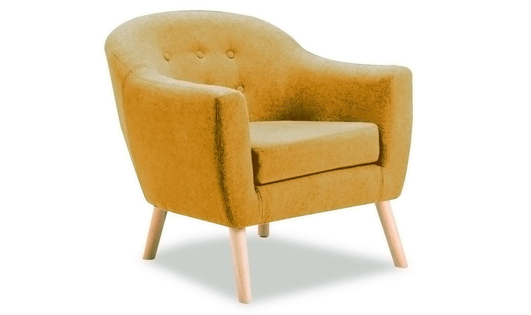 Perig Accent Chair - Mustard