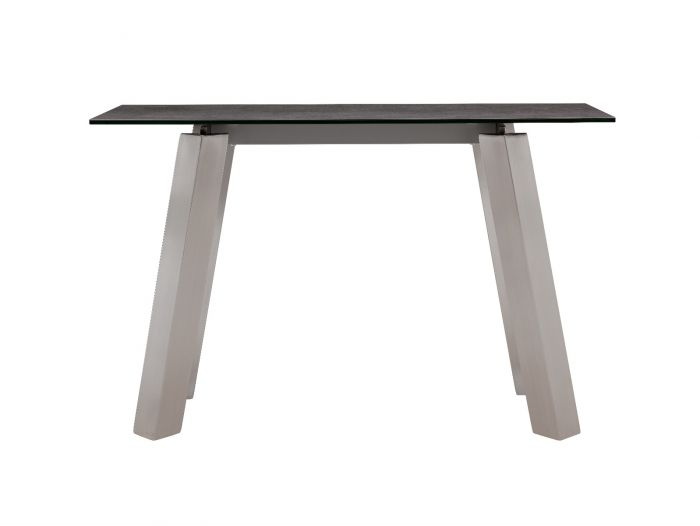 Agata Grey Ceramic Console Table - ImagineX Furniture & Interiors
