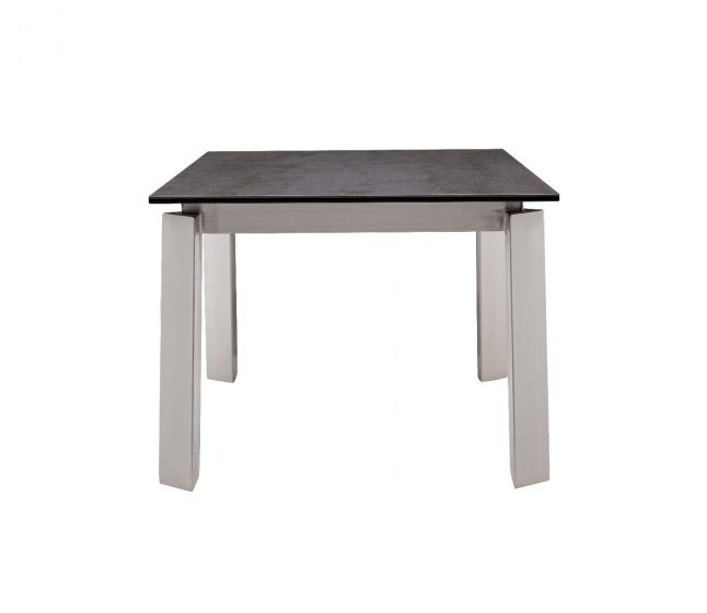 Agata Grey Ceramic Side Table - ImagineX Furniture & Interiors
