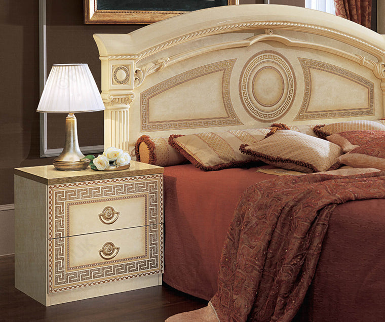 Aida Italian 2 Drawer Night Table