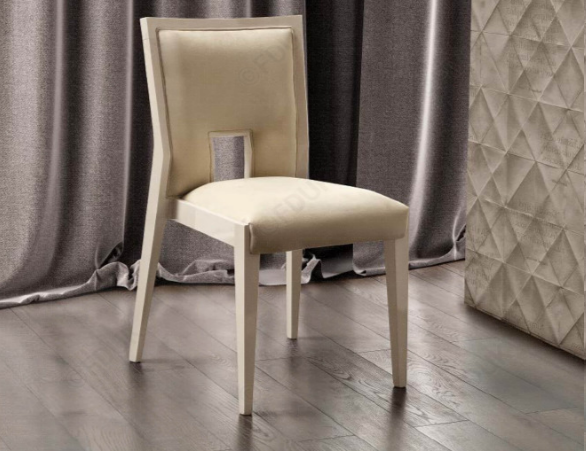 Ambra Sedia Sand Birch Finish Bedroom Chair