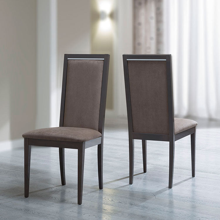 Platinum Day Silver Birch Finish Liscia Dining Chair - ImagineX Furniture & Interiors