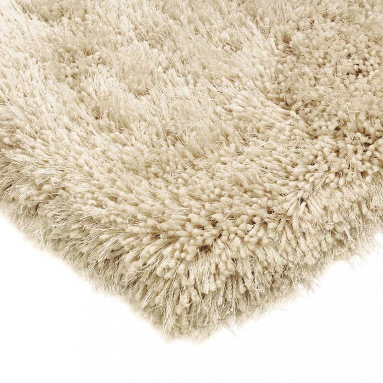 Cascade Cream Luxury Polyester Rug by Asiatic