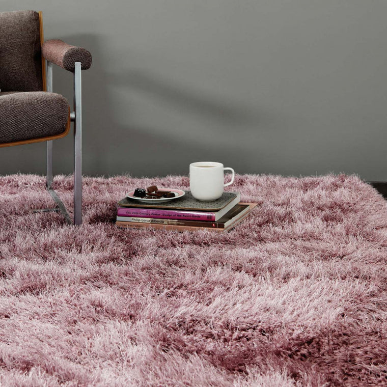 Cascade Heather Luxury Polyester Rug by Asiatic