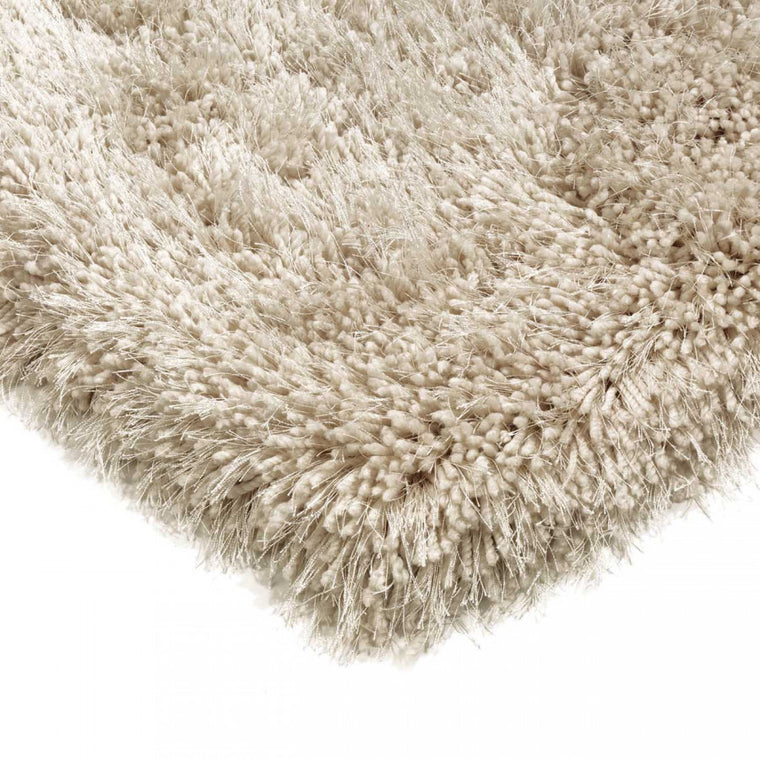 Cascade Sand Luxury Polyester Rug by Asiatic