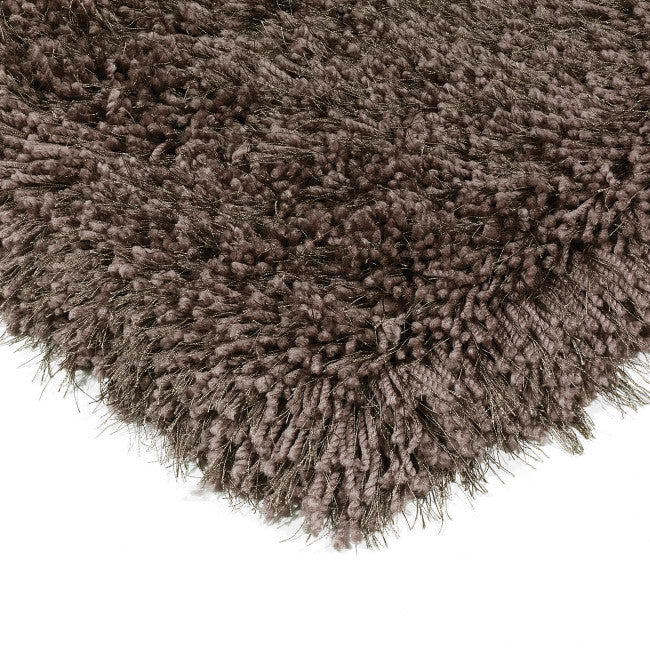Cascade Smoke Luxury Polyester Rug by Asiatic