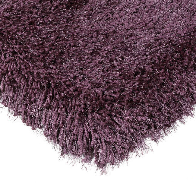Cascade Violet Luxury Polyester Rug by Asiatic