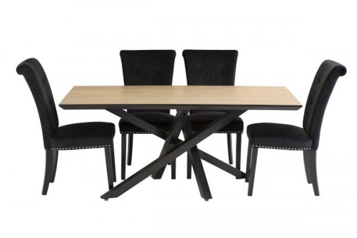 Granada 170cm Dining Table + 4 Latina Chairs - ImagineX Furniture & Interiors