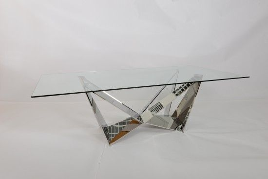 Florentina Glass Coffee Table - ImagineX Furniture & Interiors