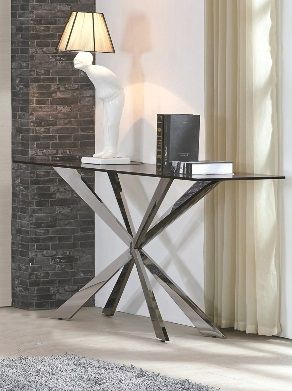 Gabriella Glass Console Table - ImagineX Furniture & Interiors