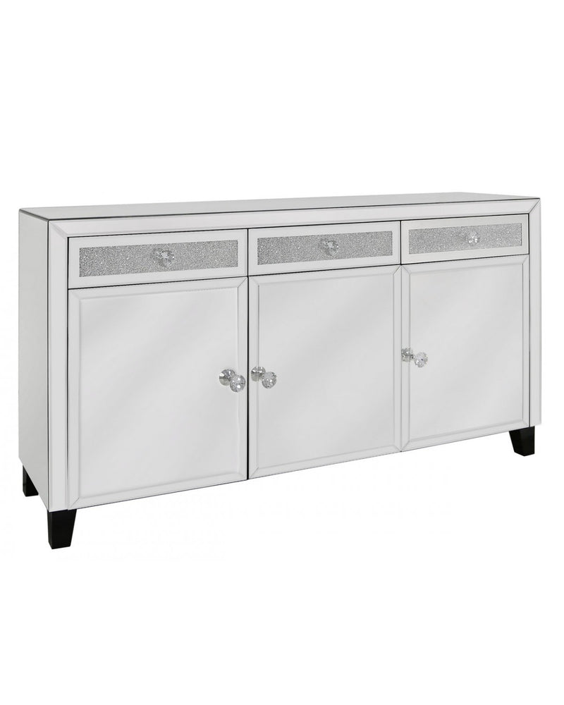 Rome Mirror 3 Drawer 3 Door Sideboard - ImagineX Furniture & Interiors