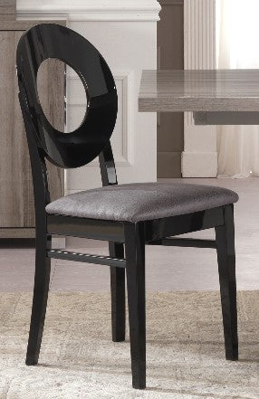 Glamour Oval Italian Dining Chair - ImagineX Furniture & Interiors