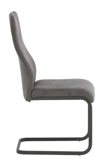 Palermo Grey Fabric Dining Chair