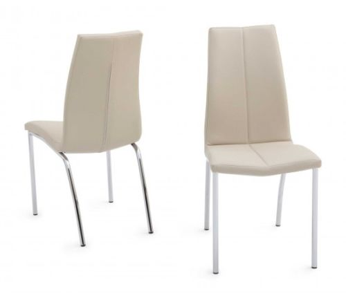 Lucca White High Gloss 160cm Dining Table + 6 Ava Dining Chairs in 4 Colours - ImagineX Furniture & Interiors