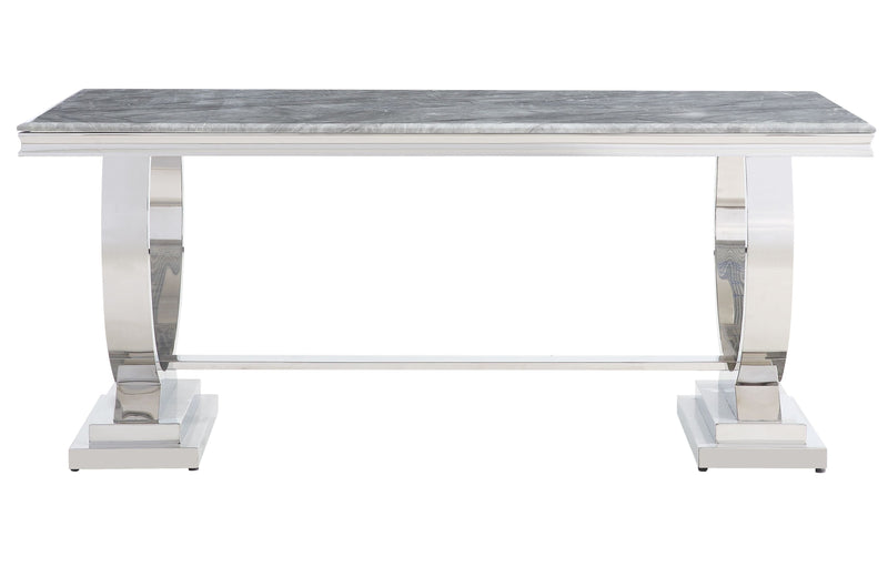 Venice 180cm Grey Marble Dining Table - ImagineX Furniture & Interiors
