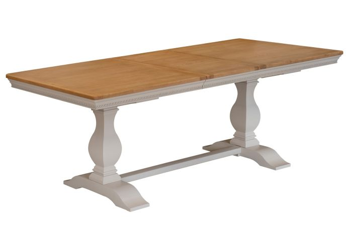 Winchester 180cm Silver Oak Dining Table - ImagineX Furniture & Interiors