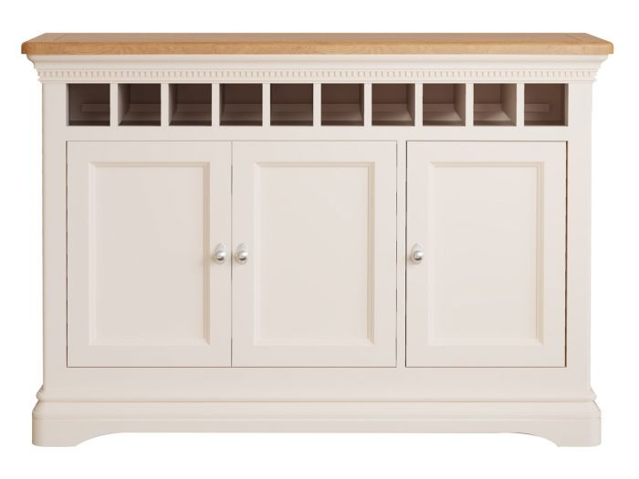 Winchester Silver Oak Large Console Table - ImagineX Furniture & Interiors