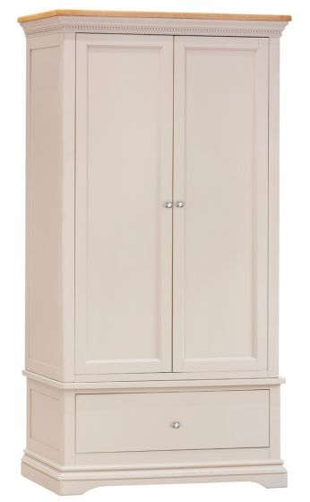Winchester Silver Oak Wardrobe - ImagineX Furniture & Interiors