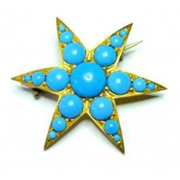 ANTIQUE VICTORIAN STAR JEWELLERY