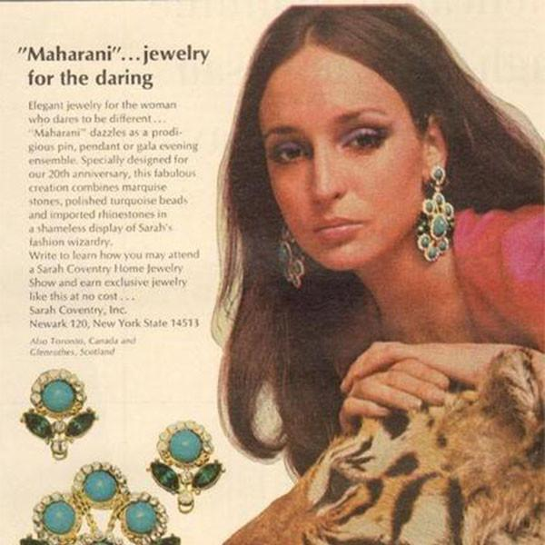 VINTAGE DESIGNER JEWELERY - SARAH COVENTRY