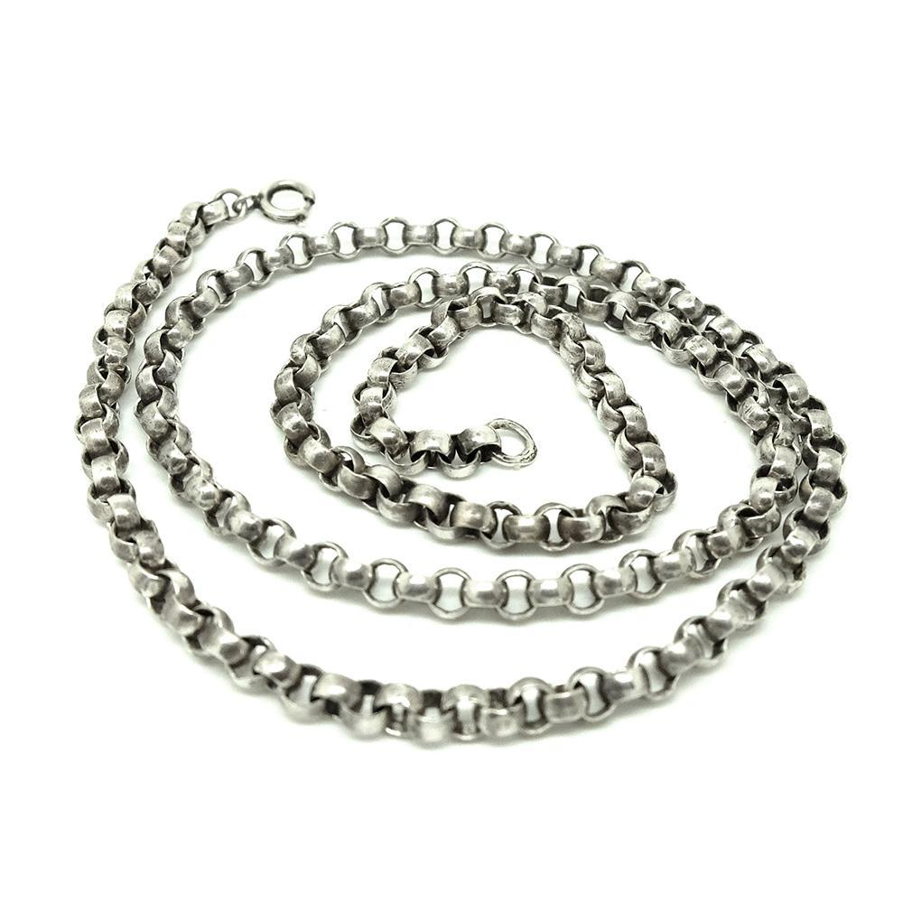 1940s Necklace Vintage1940s/50s 'Made in England' Silver Chain Necklace
