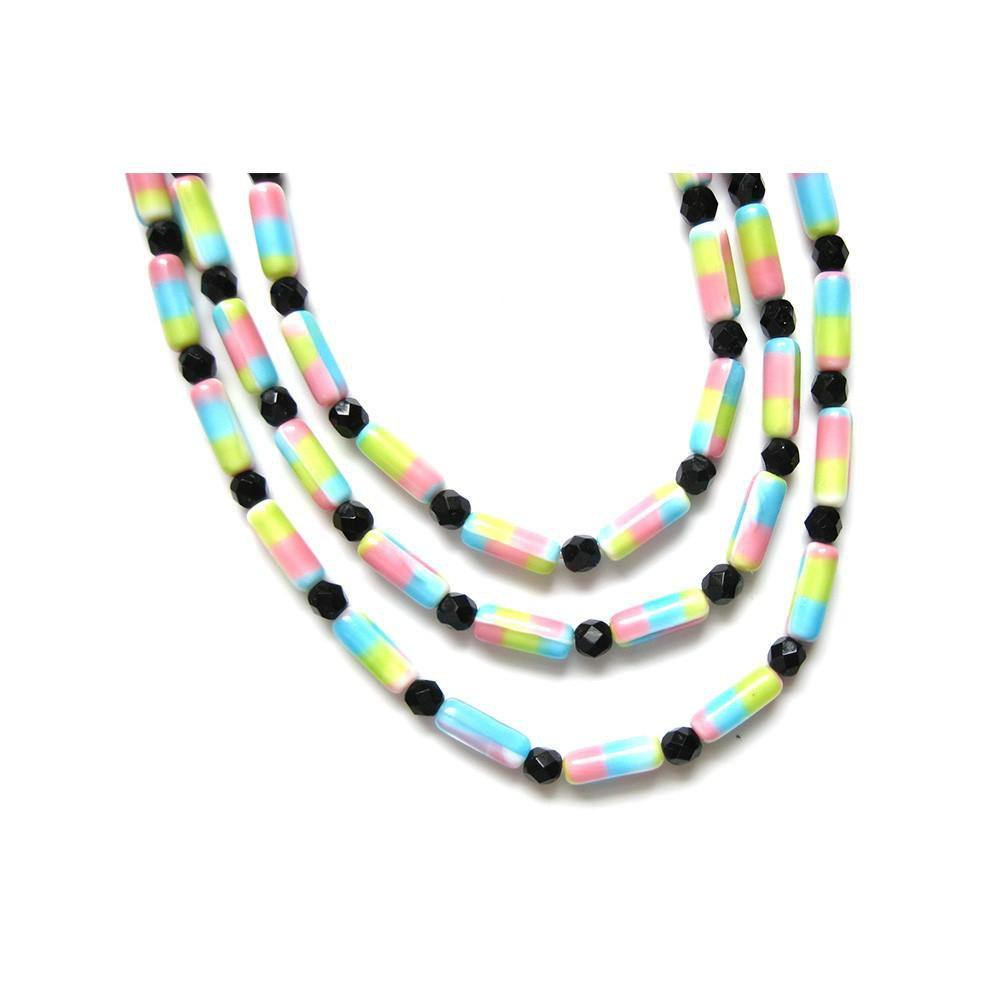 Vintage 1960's Triple Strand Sweetie Necklace