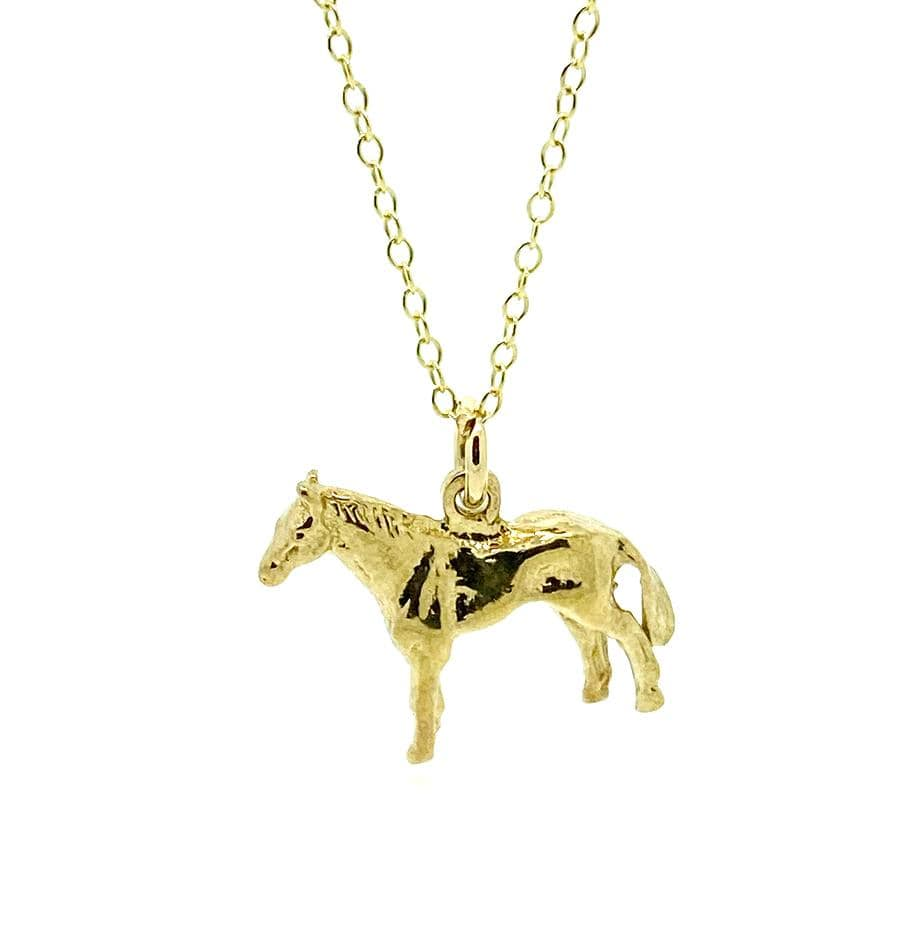 1960s Necklace Vintage 1960s Horse Charm Necklace