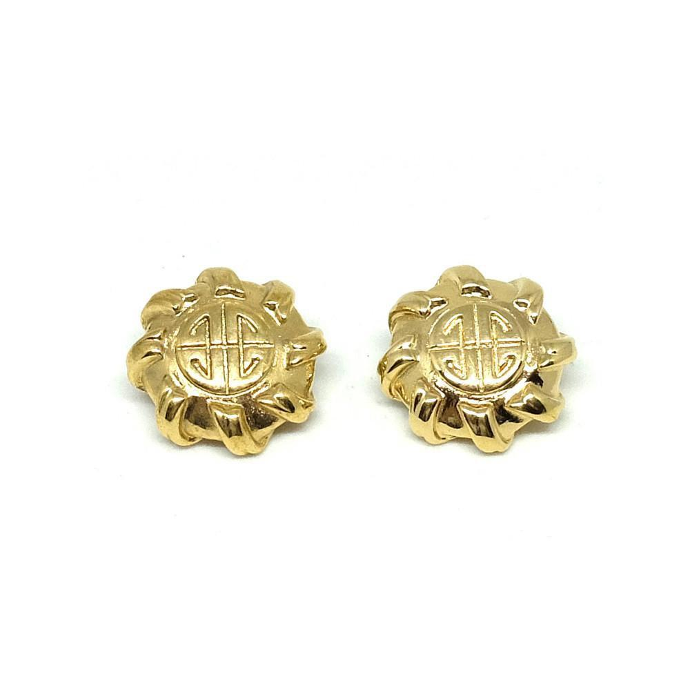 Vintage 1980's Designer Givenchy Clip Earrings