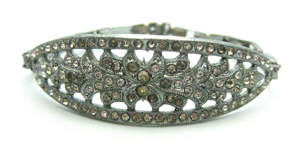 Vintage Art Deco Child's Diamante Bracelet