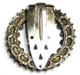 Vintage Art Deco 1937 Coronation Dress Clip Brooch
