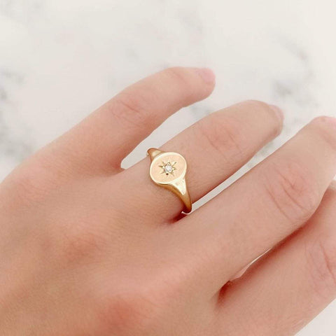 BY MAYVEDA Ring The Mayveda Signet Ring