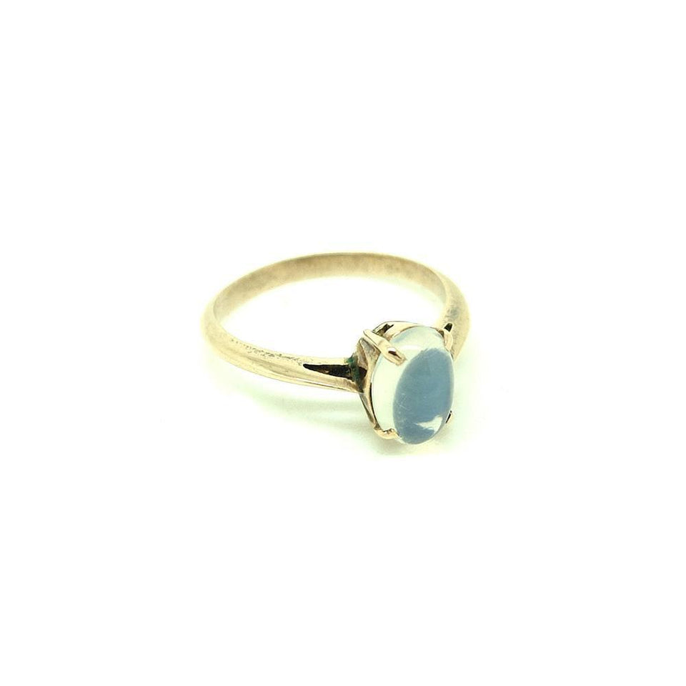 Antique Edwardian 9ct Gold Moonstone Ring