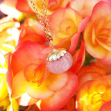 Mayveda Jewellery Necklace The Mayveda Wren Rose Quartz Necklace