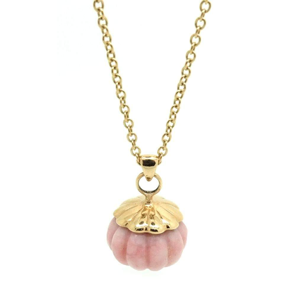 Mayveda Jewellery Necklace The Wren 9ct Yellow Gold Gemstone Necklace