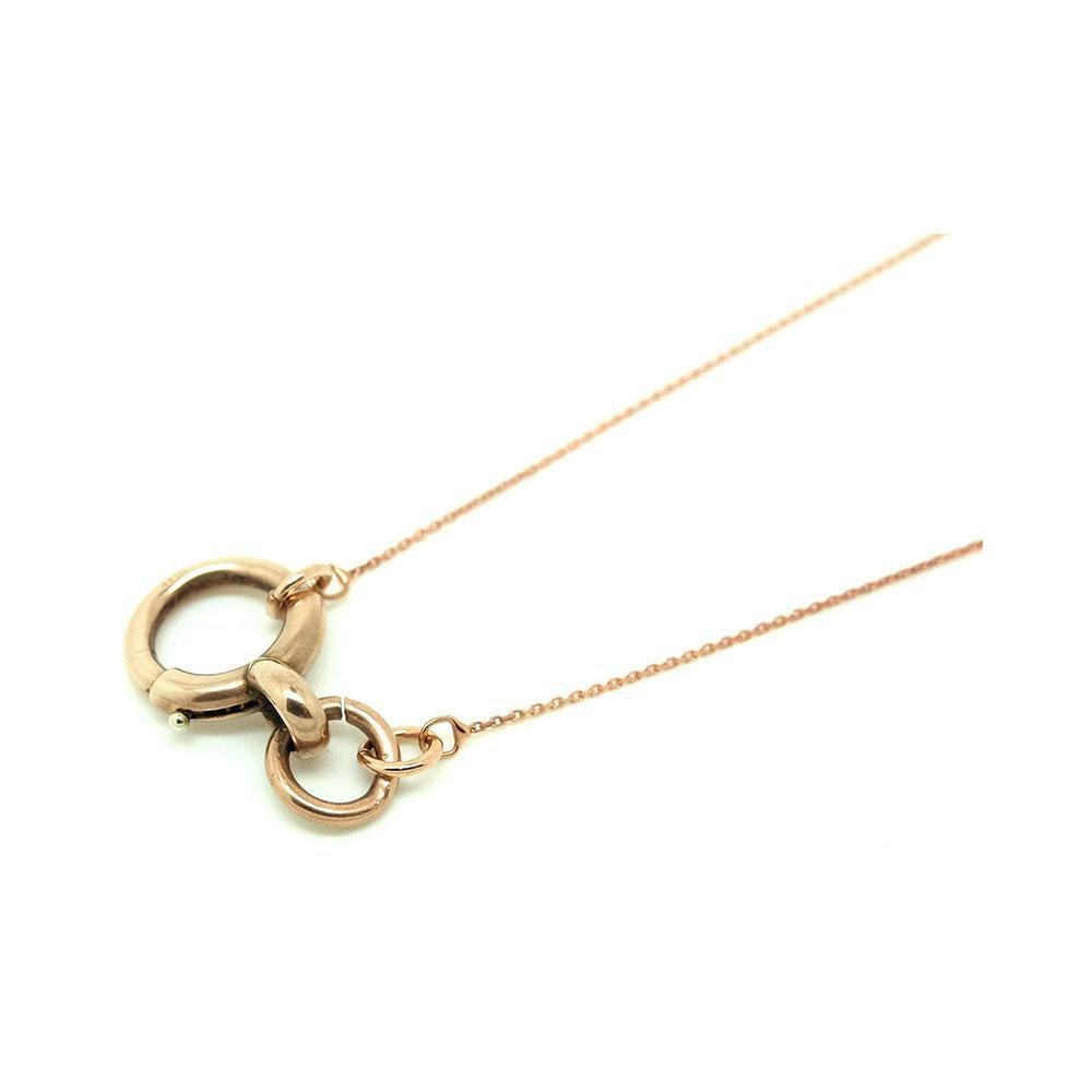 Antique Victorian 9ct Rose Gold Bolt Ring Pendant