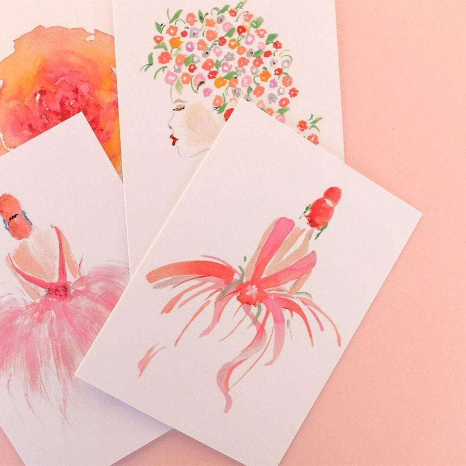 NEW Greetings Cards Girls Assorted Greeting Cards Set