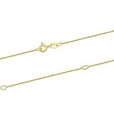 NEW Necklace New 9ct Yellow Gold Chain Necklace