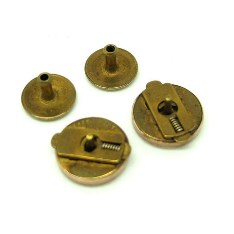 Antique Victorian 9ct Gold Cufflinks Bachelor Buttons