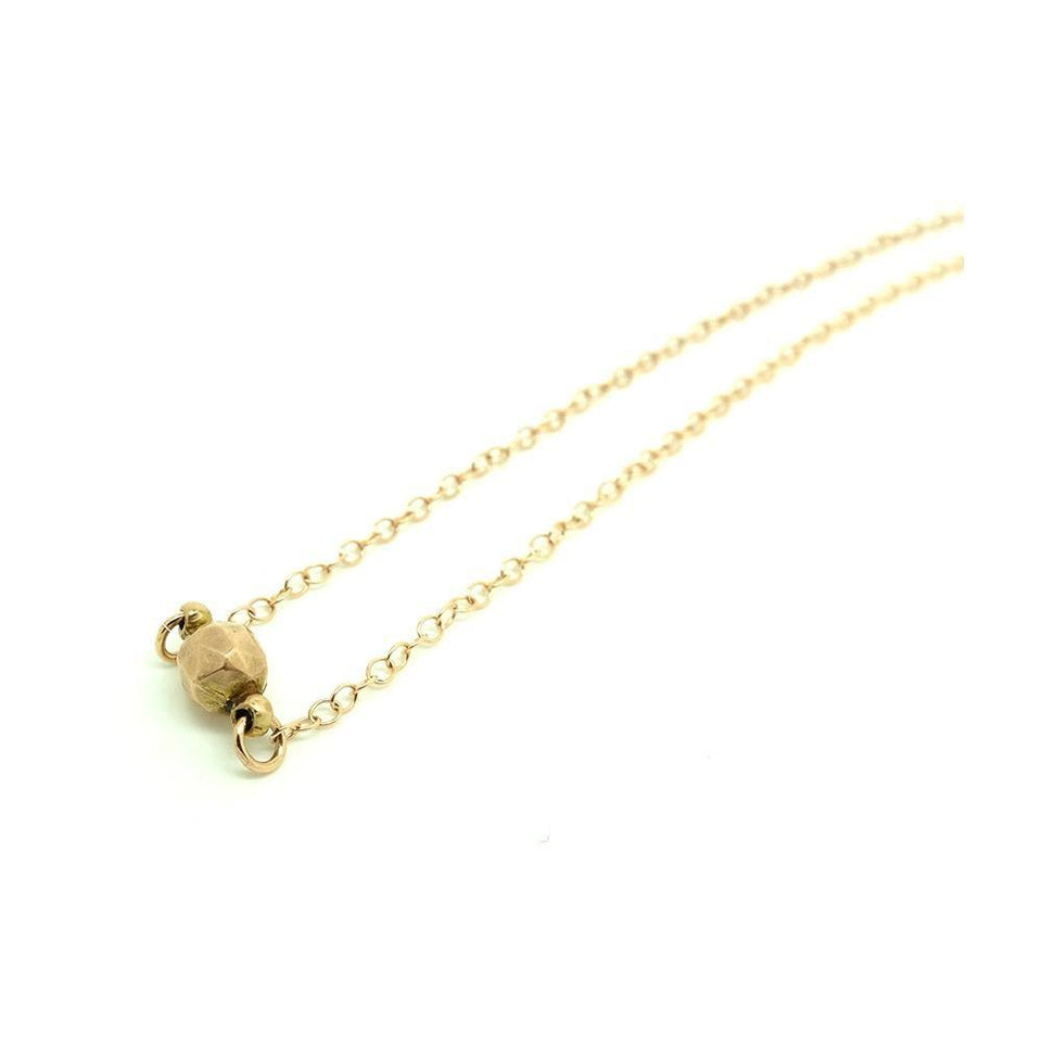 Antique Victorian 9ct Rose Gold Choker Chain Necklace